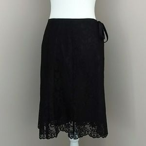 Black Lace skirt by Apostrophe